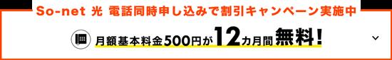 So-net光ソニー